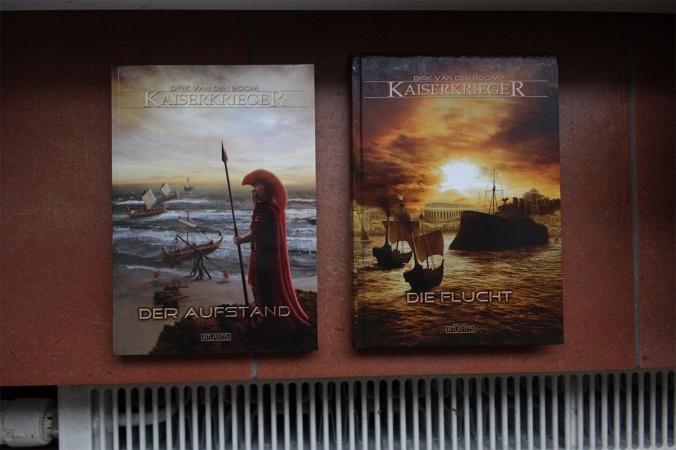 Belegexemplare: Kaiserkrieger 4 und 5