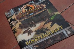 Das Einsteigerset zum Iron-Kingdoms-Rollenspiel