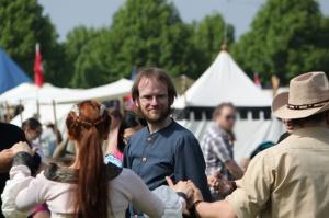Mit Saltatio auf dem Epochenfest in Jülich (Foto © Thomas Bender)