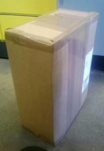 14 Kilo Buch, etwas überraschend an der Packstation angetroffen