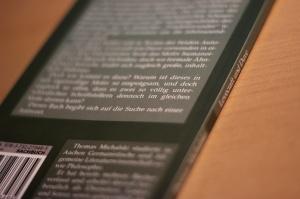 Die Rückseite sowie der Buchrücken