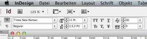 Adobe InDesign sagt Pt statt P; es muss also mehr dahinterstecken …