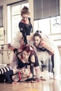 Zombie-Ballerinas – jetzt auch bei deviantArt