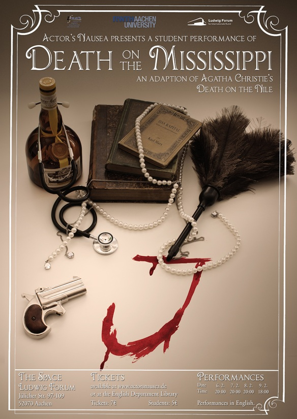 Das finale Poster für Death on the Mississippi