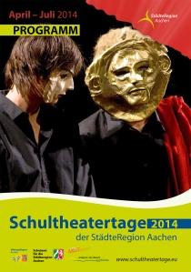 Programmheft der Schultheatertage 2014; Titelfoto von mir