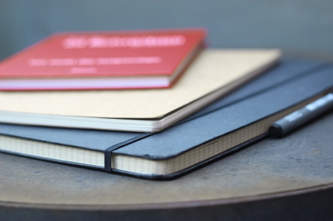 Eine kleine Auswahl weiterer Notizbücher bei mir