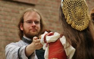Foto während unseres Auftritts auf Burg Binsfeld (Foto © des Veranstalters)