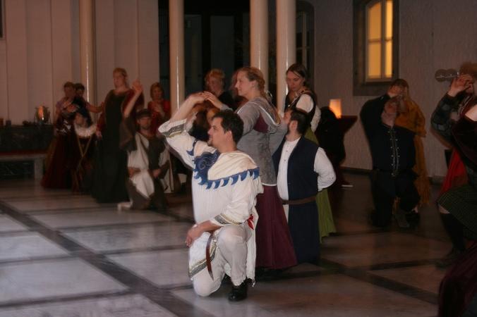 Der Mondscheinball war auf jeden Fall eine Veranstaltung zum Verzaubern (© 2014 Miriam Brammertz / Saltatio – Historisches Tanzen Aachen e.V.)
