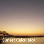 Für anspruchsvollere Nutzer: Sunset Calculator