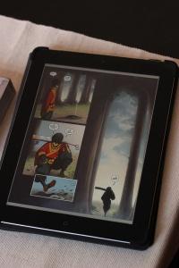 Erstaunlich prächtig: Ein Exalted-Comic auf dem iPad