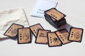 Unser erstes eigenes Kartenspiel: Helden Condras