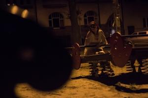 Anke und Aachen bei Nacht web-3021