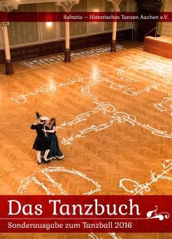 Der Tanzball Tanzbuch Frontcover Entwurf 1