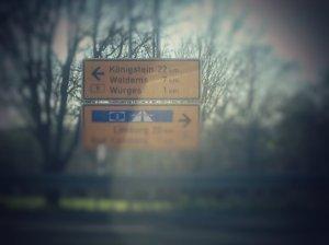 Ortsschild Waldems