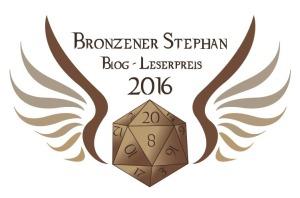 """Ausgezeichnet beim """"Goldenen Stephan 2016"""" in der Kategorie """"Bestes Abenteuer"""""""