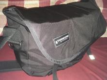 So sieht die Tasche auch noch damit befüllt aus.
