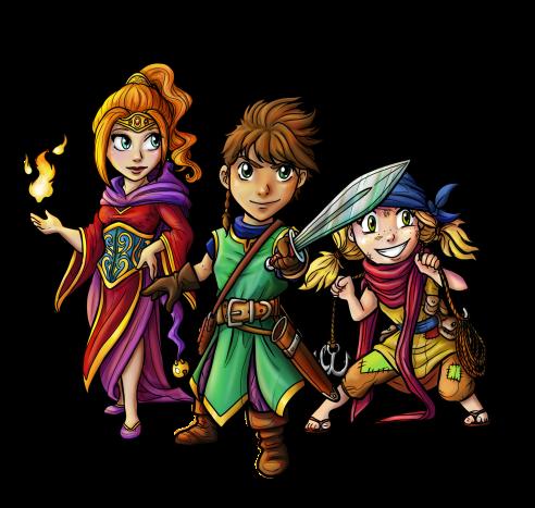 Mystics of Mana Gruppe