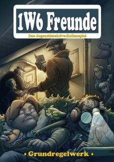 Die 1W6 Freunde 3E Frontcover